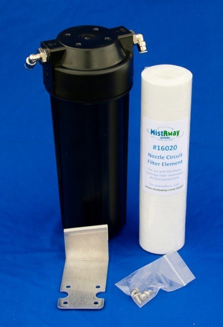 Mistaway Nozzle Circuit Filter Kit - Gen 3 Retrofit