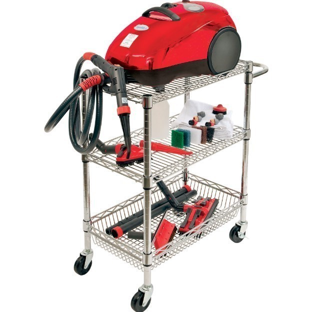Vapor blitz basic & chrome cart
